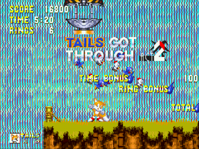 Sonic the Hedgehog 3 - ya for tails! - User Screenshot